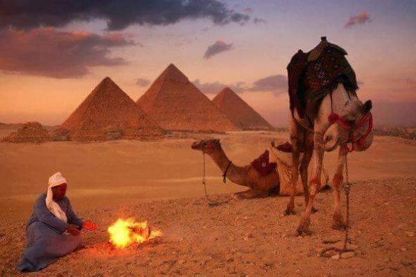 Full day tour to Giza Pyramids, Sphinx , Memphis & Sakkara